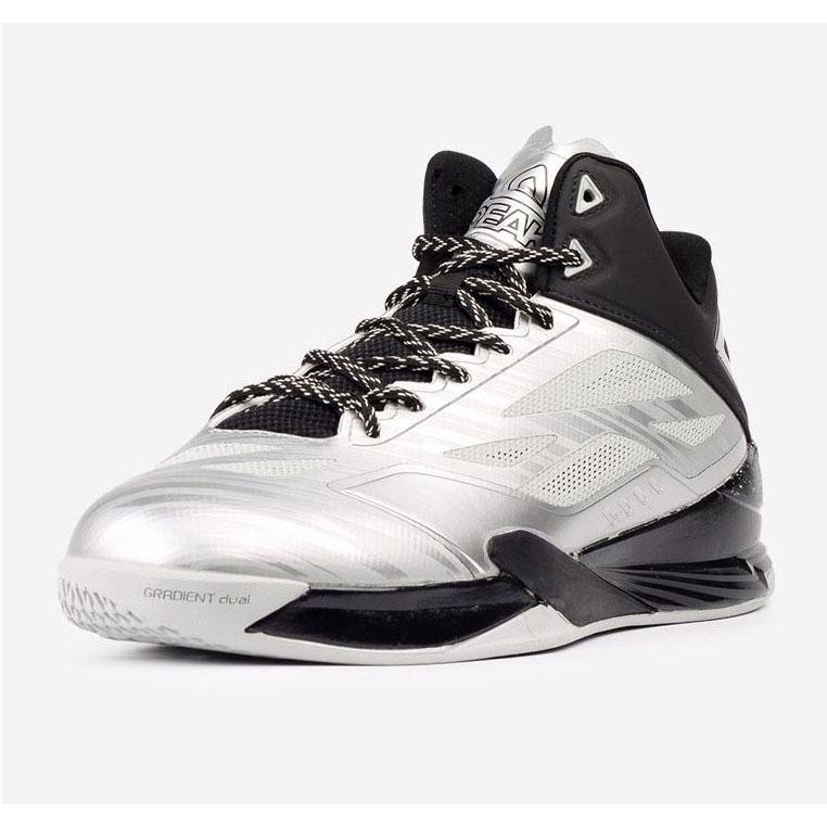 Giày bóng rổ nam Peak Lightning IV E61053A bạc đen