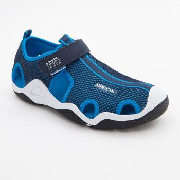 Sandals bé trai Geox J WADER C màu xanh navy phối xanh da trời