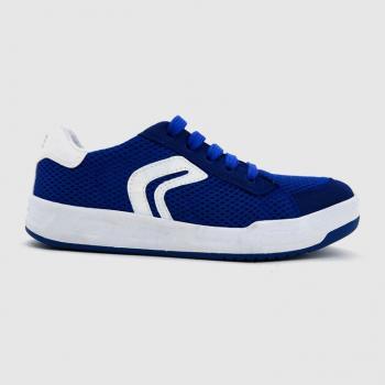 Sneakers Geox cột dây màu xanh dương