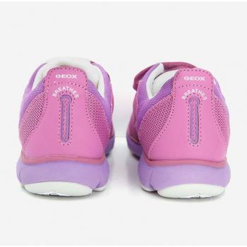 Sneakers bé gái Geox J NEBULA G. A màu hồng tím