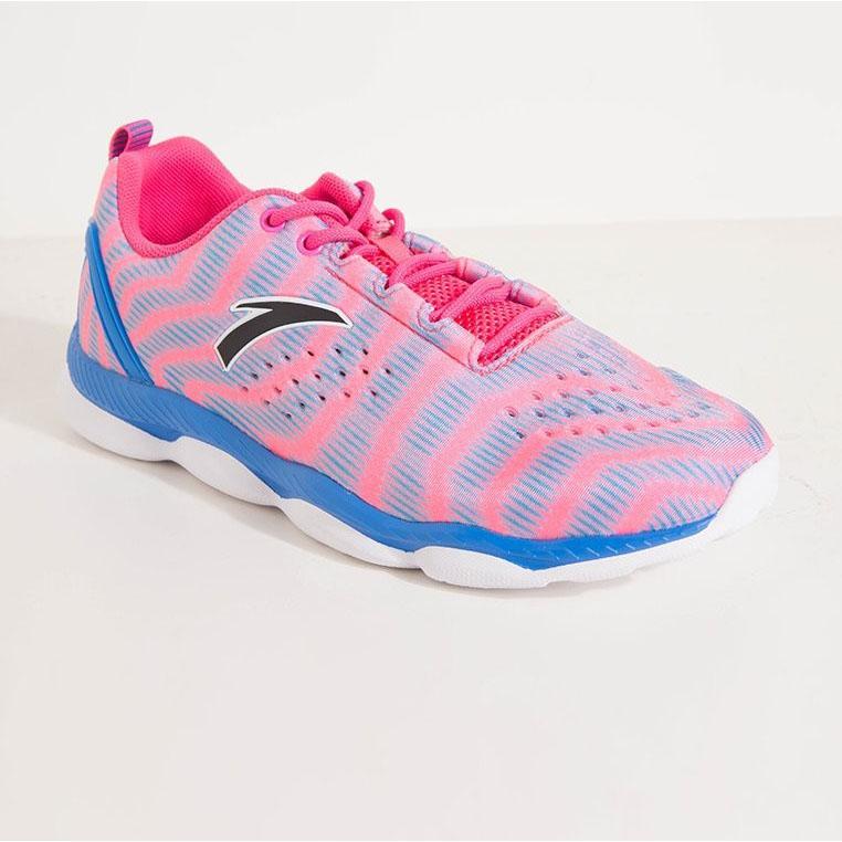 Giày tập nữ Anta 82627715-2 hồng phối xanh da trời